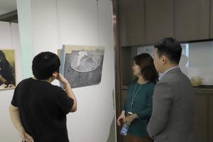第二届圆体艺术春季展在上海顺利开幕