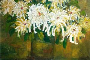 王帮军个人油画作品展在时代美术馆开幕