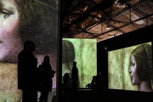 希腊雅典举办达芬奇主题沉浸式展览