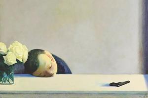 身为画家的他 凭什么会被卓纳画廊看上?