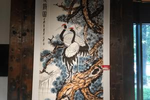 庆祝新中国成立70周年将军与名家书画展在京举行