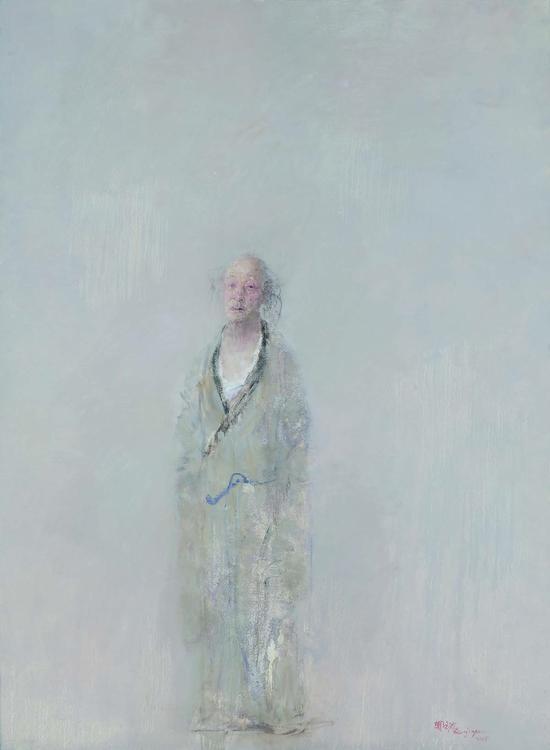 67《晚明系列 无题》郑金岩 188cm×138cm 布面油画 2015年
