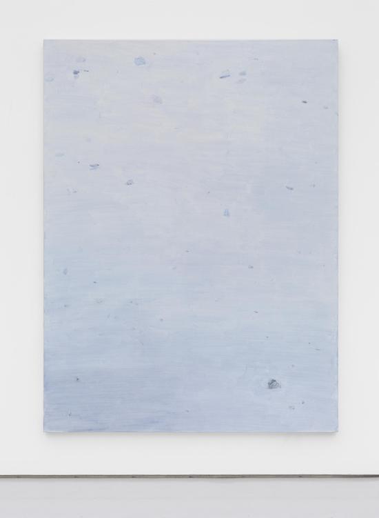 石至莹,《石头17-6》,布面油画,240×180cm,2017
