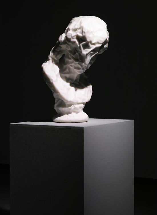 阿里阿斯 汉白玉,高68cm,2016年