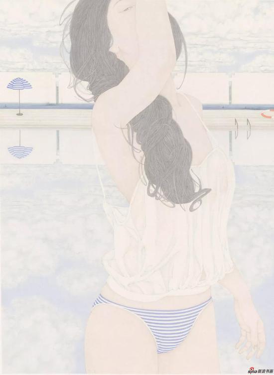 张见 蓝色假期之四 68.5×50cm