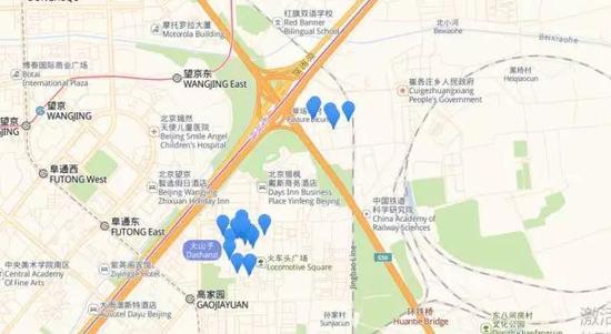 北京画廊周末:画廊分布地图