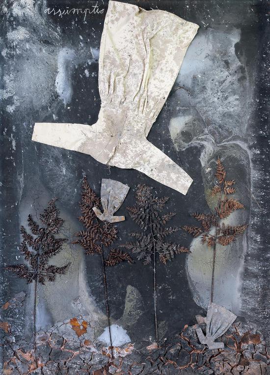 假设,混合材料,2006年 190x140cm,MAP收藏