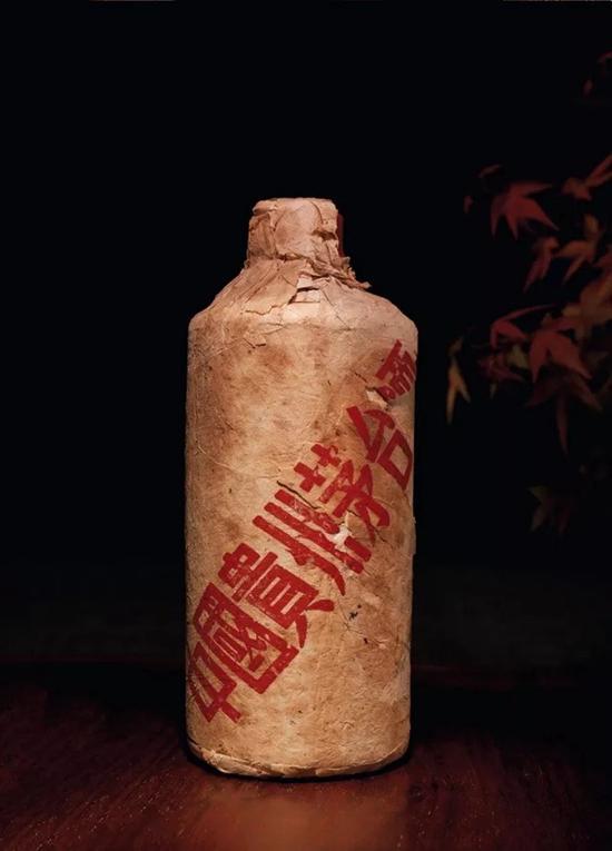 70年代初贵州茅台酒(棉纸包装葵花牌)