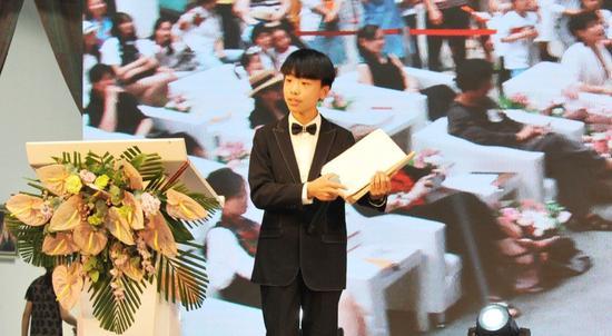 宋长毅 13岁:绘画就是我的生活日记。