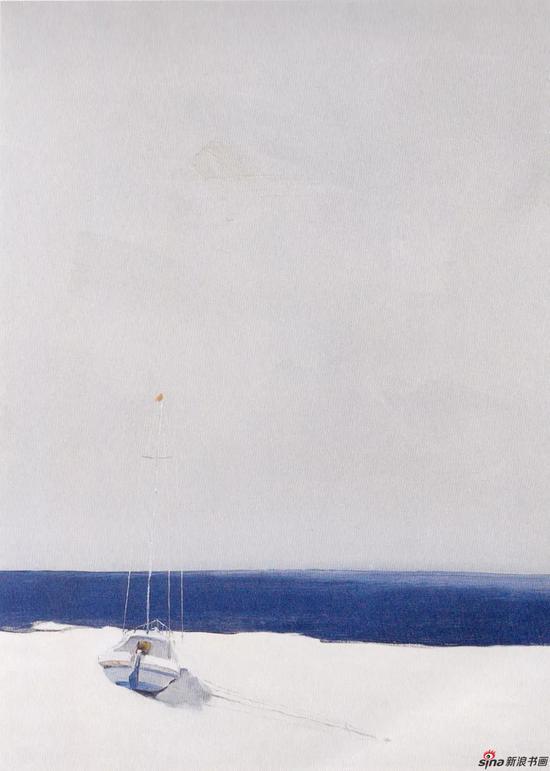 《船》,2006年,90*60cm,布面油画