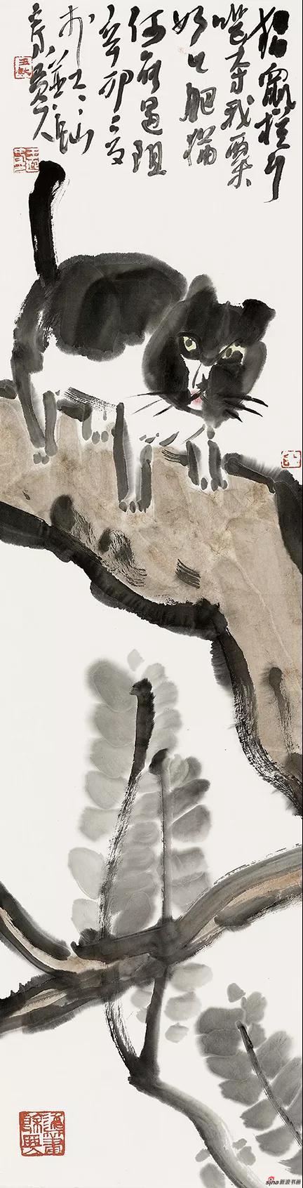 王迎春作品《何能遇阻》24cm × 92cm 2018