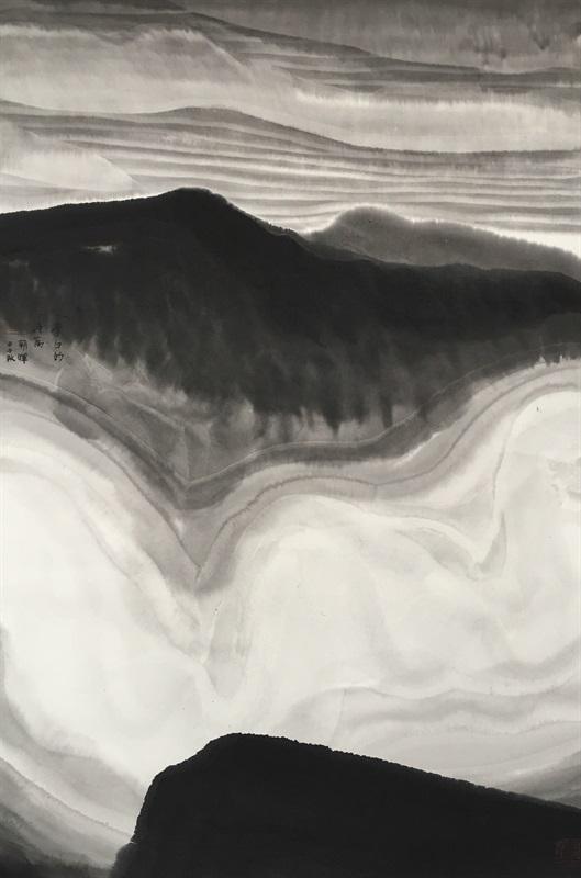 李白的诗篇 102x69cm 2014