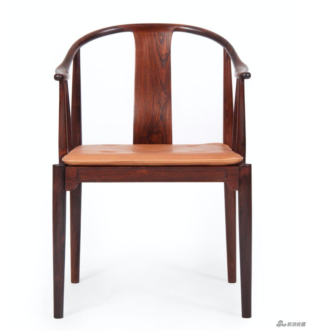 《中国椅》,巴西玫瑰木,来自YAH艺术空间