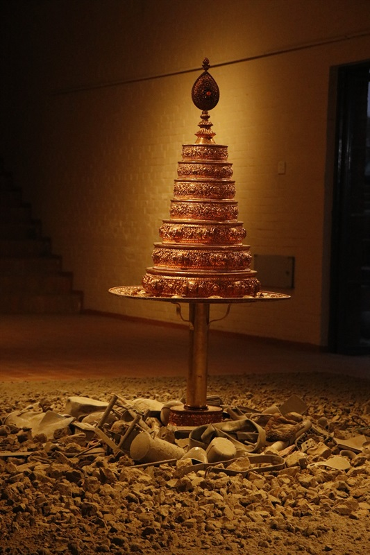 次仁·夏尔巴,许愿树II,2018,图片来源:艺术家及ROSSI&ROSSI画廊香港/伦敦