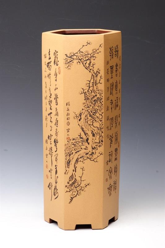 艺术家鲍志强作品 六方千筒