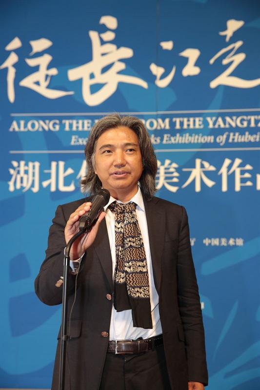 全国政协常委、中国美术馆馆长、中国美协副主席-吴为山