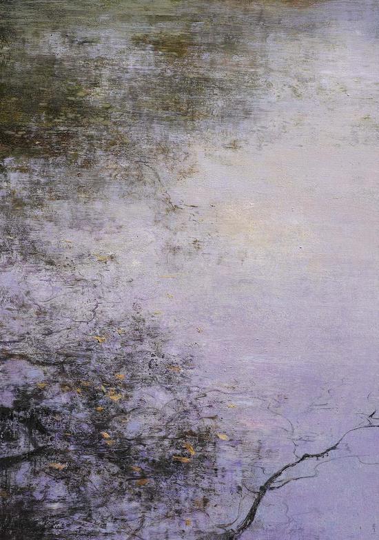 83《影之舞之四十九》庄重 194cm×130cm 布面油画 2016年