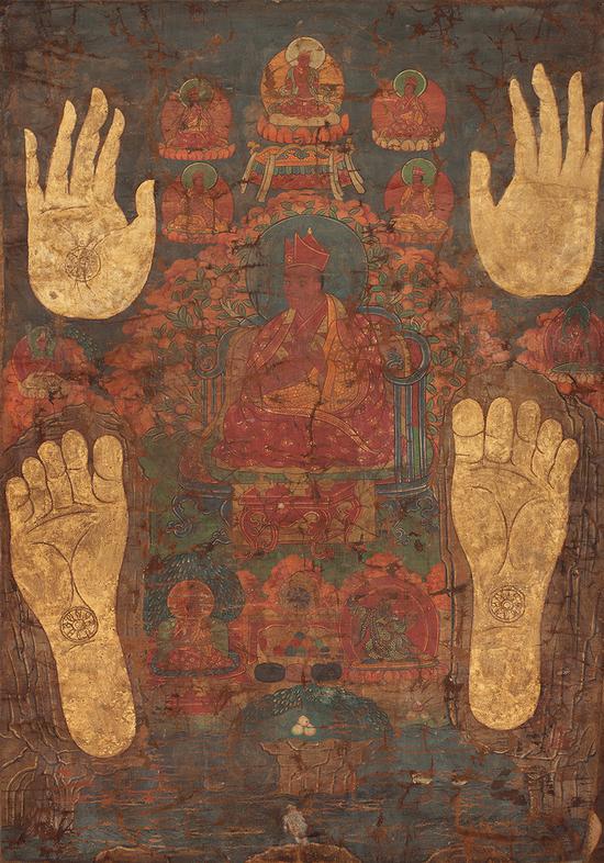 司徒确吉迥乃唐卡(18世纪)