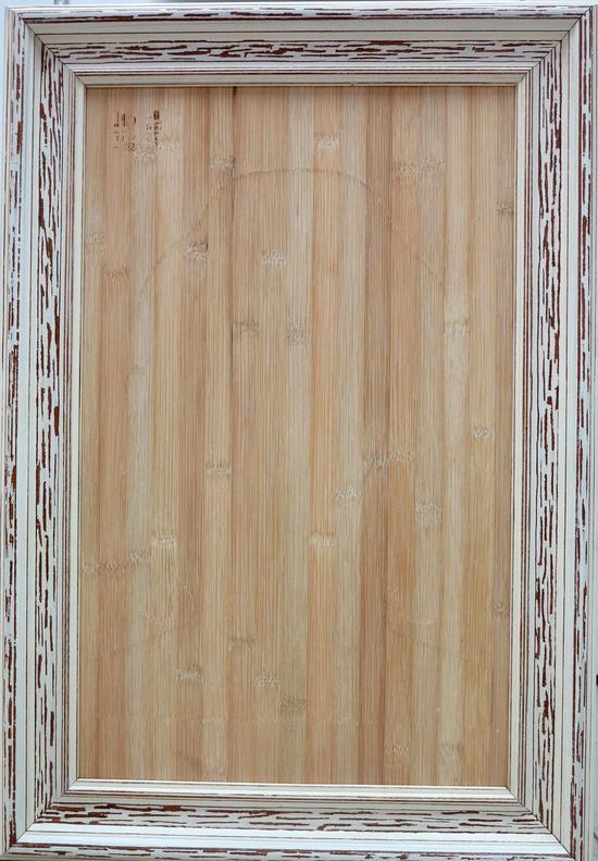 《无中有》59×38cm 竹、木 2014