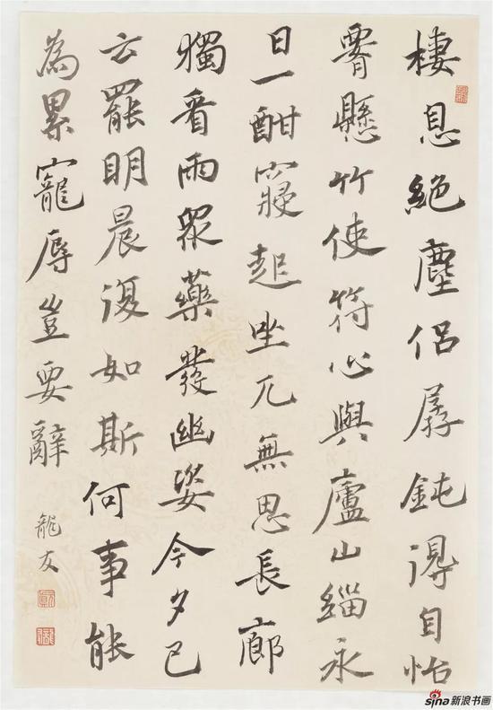 韦应物《郡内闲居》,纸本,25×36.5cm,2018年