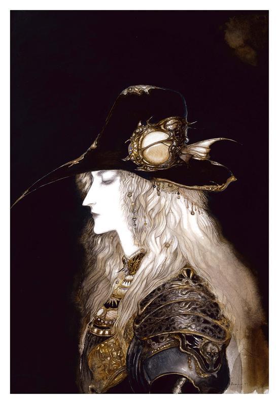 D-昏暗的夜曲 (肖像) 1992年