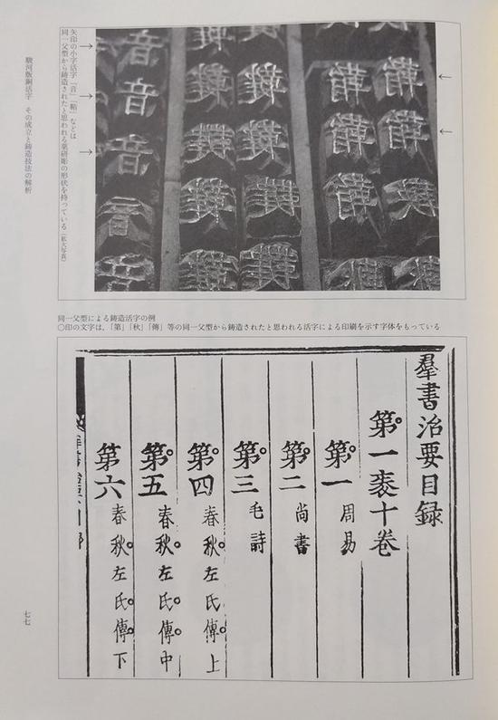 骏河版铜活字及印本《群书治要》