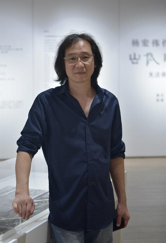 艺术家杨宏伟