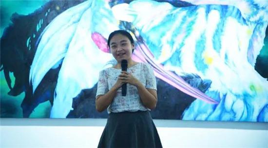 西南民族大学艺术学院王虹老师发言