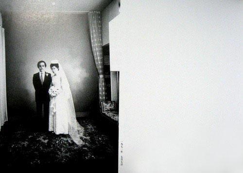 荒木经惟和荒木阳子的结婚照