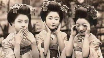 百年前一个日本人帮美国人拍照
