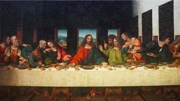 达芬奇还画了另一幅《最后的晚餐》?