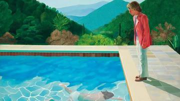 大卫·霍克尼画作拍出6.26亿