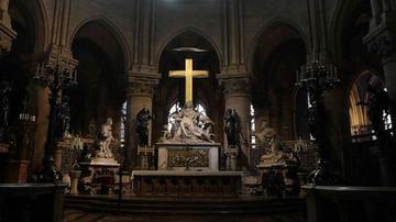 巴黎圣母院首度曝光火灾后内部真容