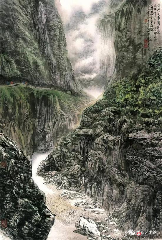 《台湾太鲁阁胜景》