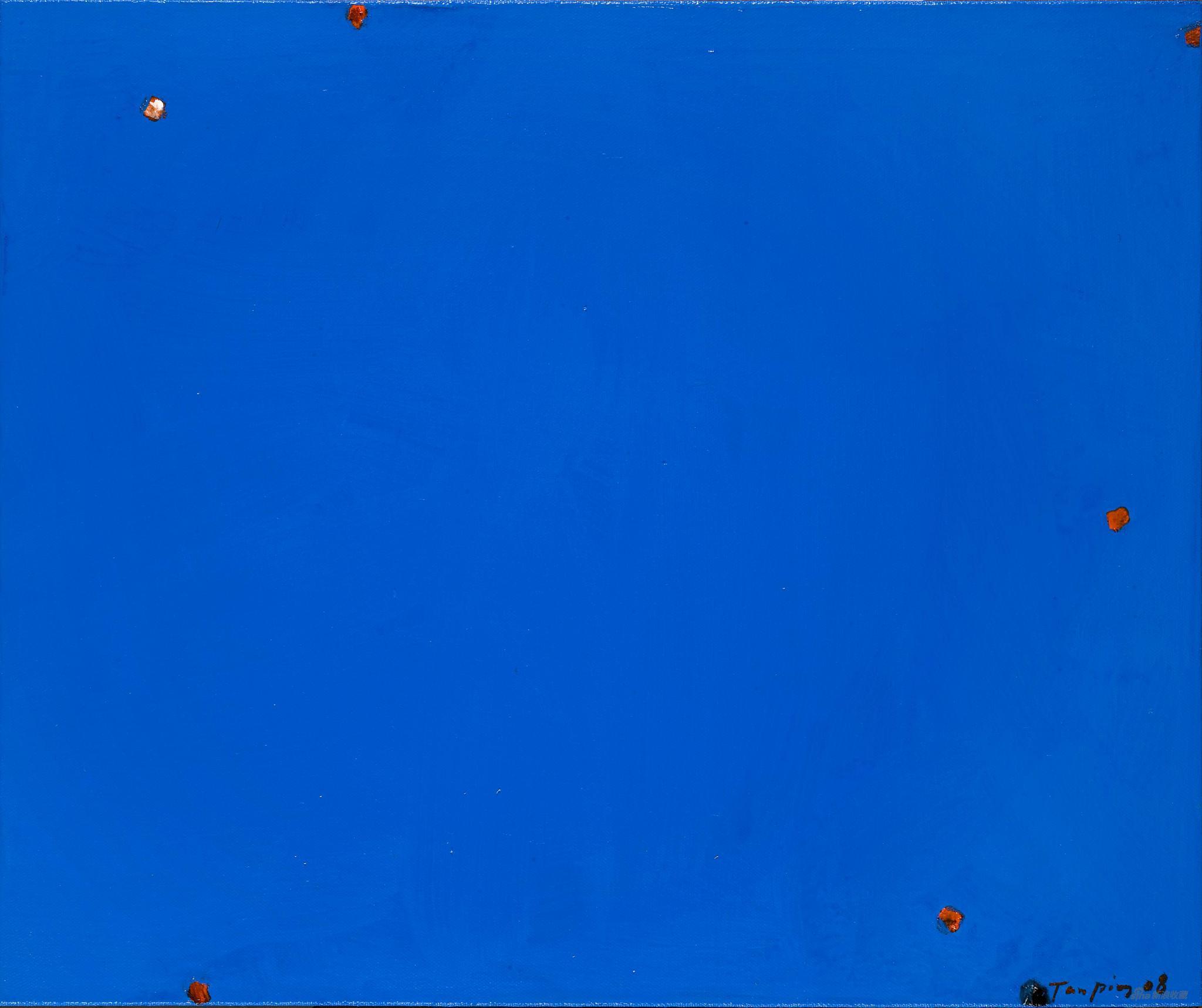 《感性的位置》,布面丙烯,40 x 50 cm,2008