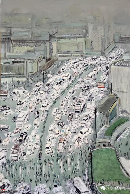 城市命运·5 100x150cm 2011年