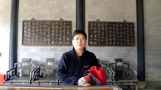 刘春龙在绍兴兰亭