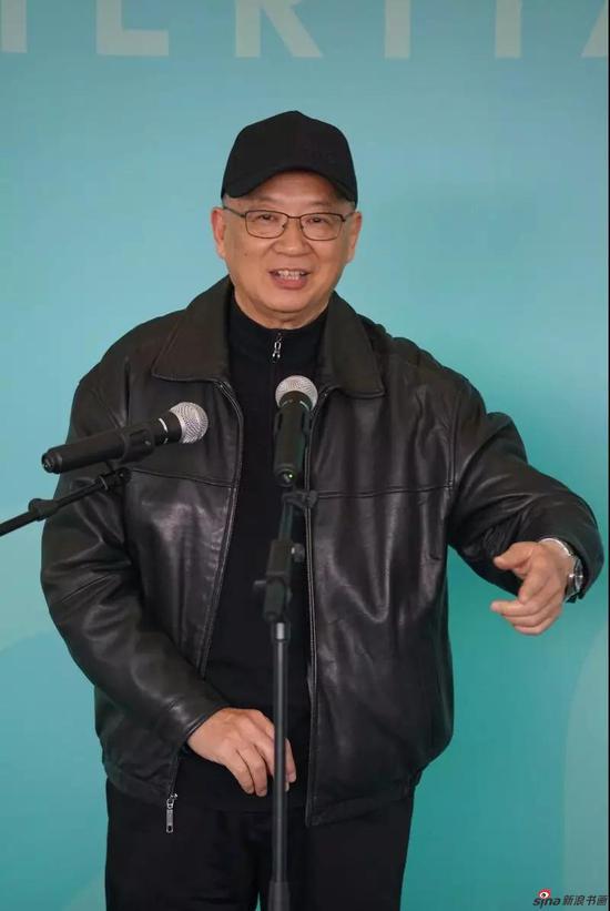 著名艺术家徐伟德老师讲话