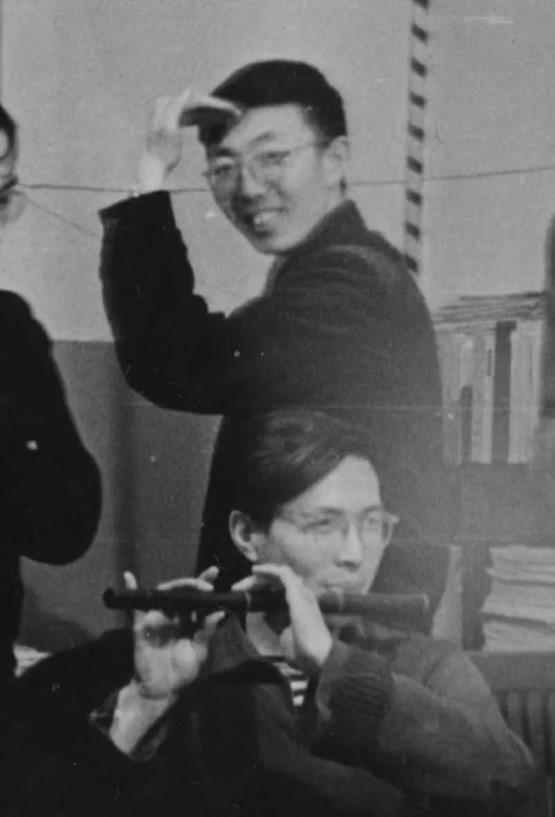 在苏联留学时期的李天祥先生(后)