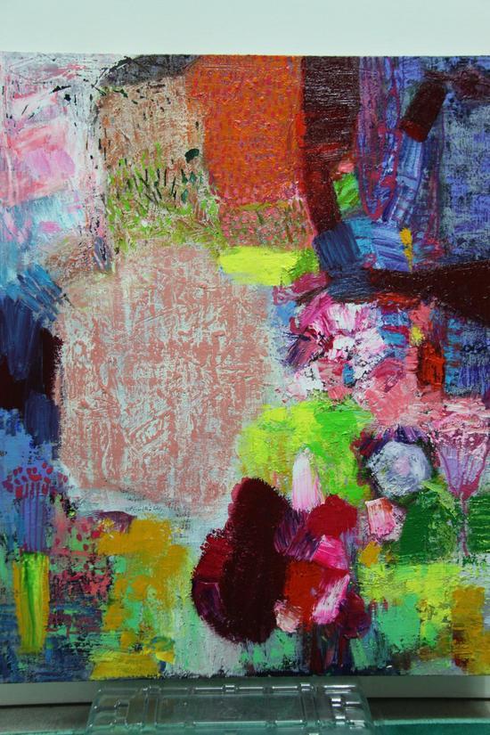 苏英兰(韩)《the momery》90x72cm, oil on canvas, 2017