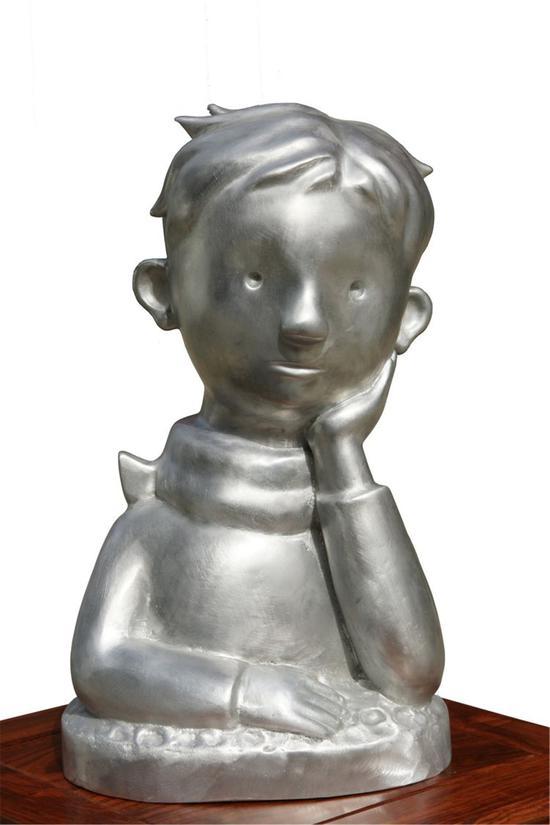 小王子 铸铝 39×23×19cm 2018年