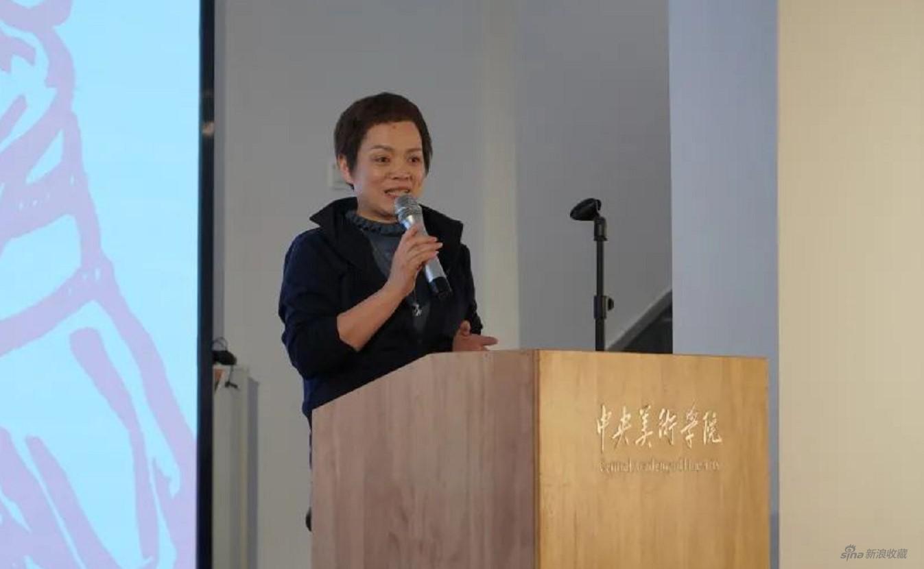 景德镇陶邑文化发展有限公司副总经理刚好发言