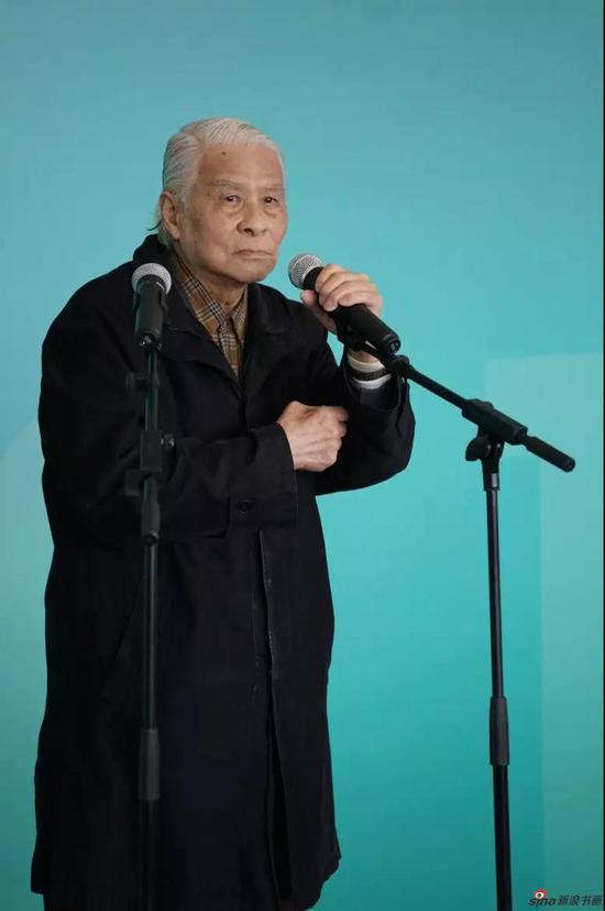 原上海大学美术学院油画系主任,廖炯模教授讲话