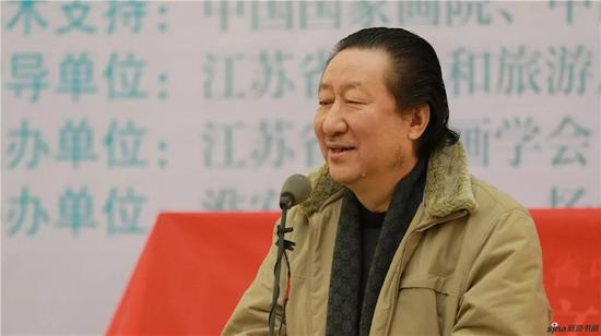 中国美协副主席、国家画院院长 杨晓阳讲话