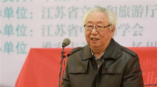 中国画学会副会长孙克讲话