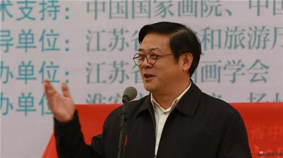 中国美术家协会分党组书记、驻会副主席徐里讲话
