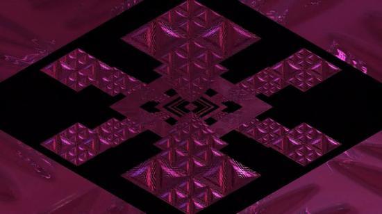 微物之光·冬 部分片段 微观视角下阿迪达斯 COLD. RDY系列面料的视觉艺术创作