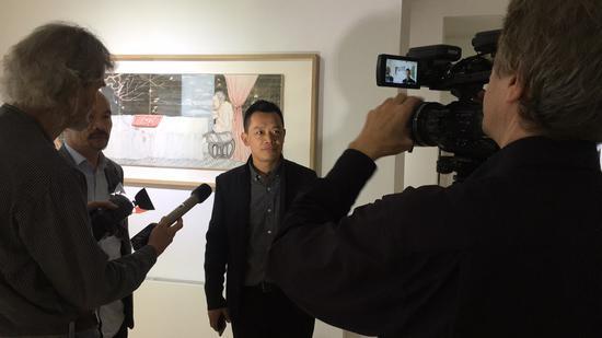 艺术家雷子人接受采访