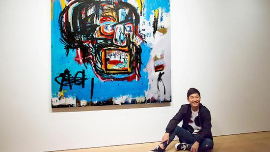 前泽友作与价值1.105亿美元的巴斯奎特画作