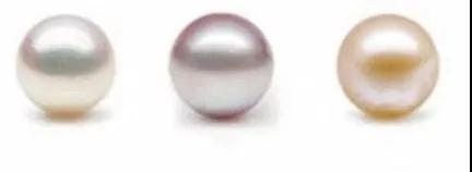 淡水珍珠的部分颜色